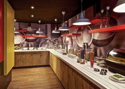 Ibis Bremen City Frühstücksrestaurant Buffet