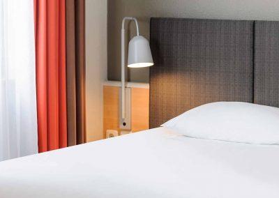 Ibis Bremen City Standard Zimmer CloseUp Bett